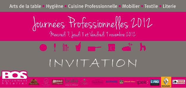 31700461cd4af Les Journées Professionnelles Bos Equipement Hôtelier - Le Chef