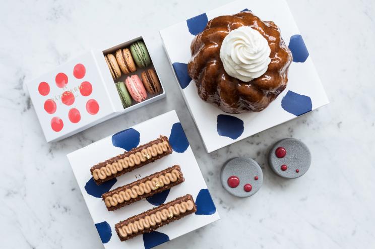 La Pâtisserie Cyril Lignac, qui compte cinq points de vente à Paris,  dispose désormais d\u0027une boutique en ligne (www.gourmand,croquant.com).