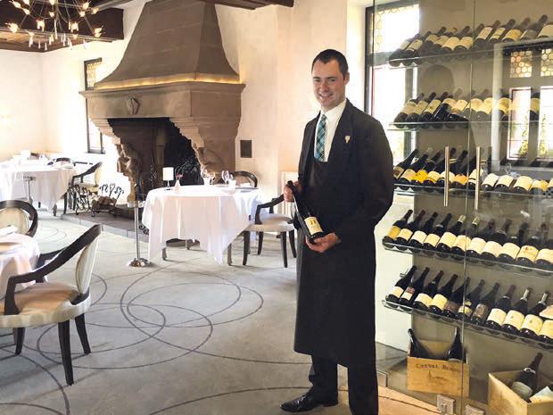 Joël Brendel – Le Cheval Blanc** à Lembach (67) DR