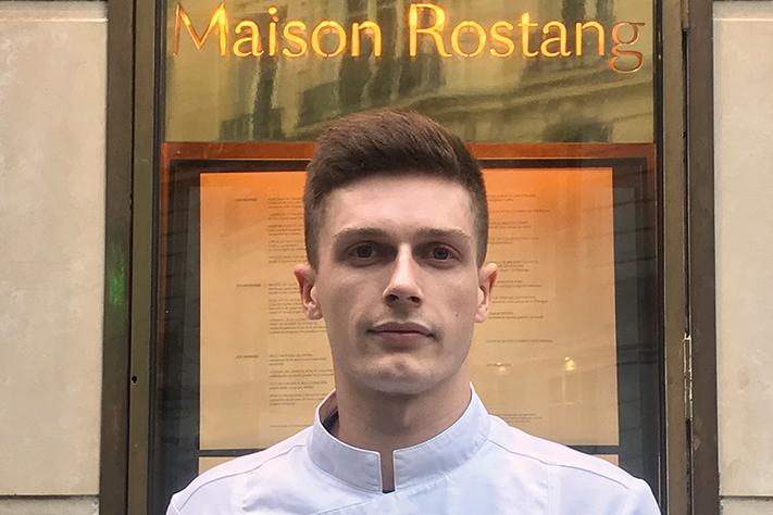 Corentin Magnin - Chef pâtissier - Maison Rostang** - Paris