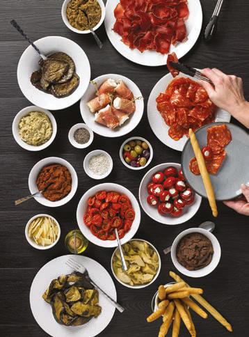 Des produits « Trattoria italienne » par PassionFroid © Thuillier Jean-Claude