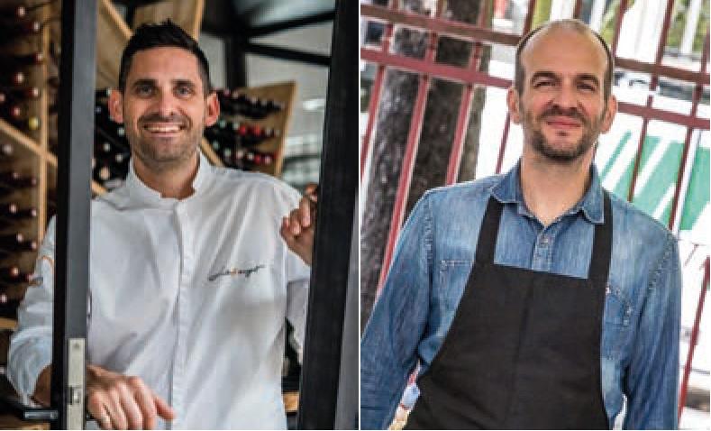 Ludovic Pouzelgues et Christophe Scherpereel DR