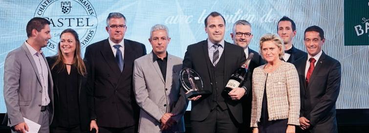 Les nominés, le gagnant, Ludovic Namur (lauréat 2017), Sophie Castel et Carol Duval-Leroy