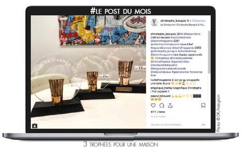 3 trophées pour une maison Photos © DR/Instagram