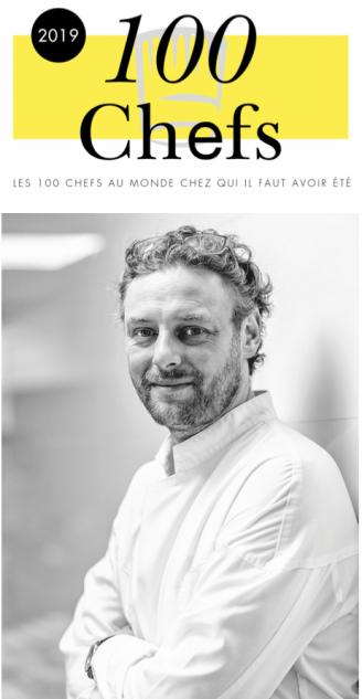 Risultati immagini per Les 100 Chefs 2019