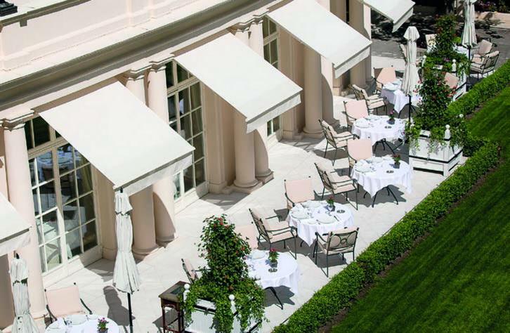 La Terrasse du restaurant Epicure © OetkerCollection