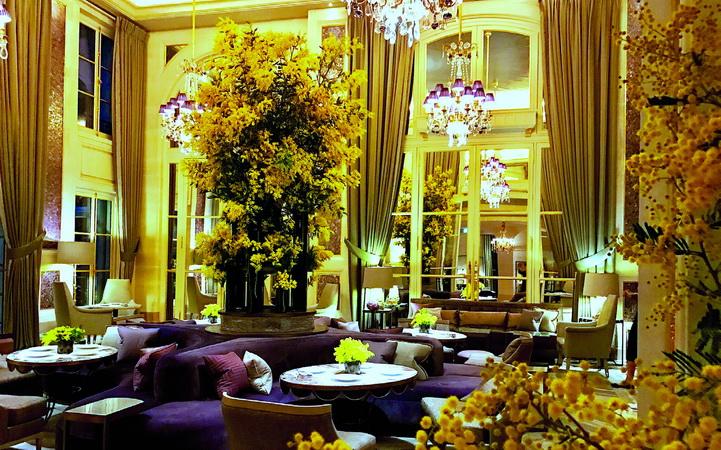 Hôtel de Crillon Jardin d'Hiver yellow