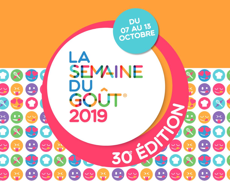 """Résultat de recherche d'images pour """"LA SEMAINE DU GOUT 2019"""""""
