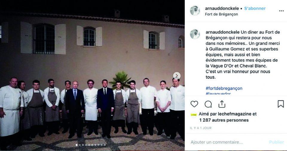 #le post du mois : Présidentiel Photos © DR/Instagram