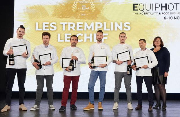 Les Tremplins 2021 et Béatrice Gravier (EquipHotel)